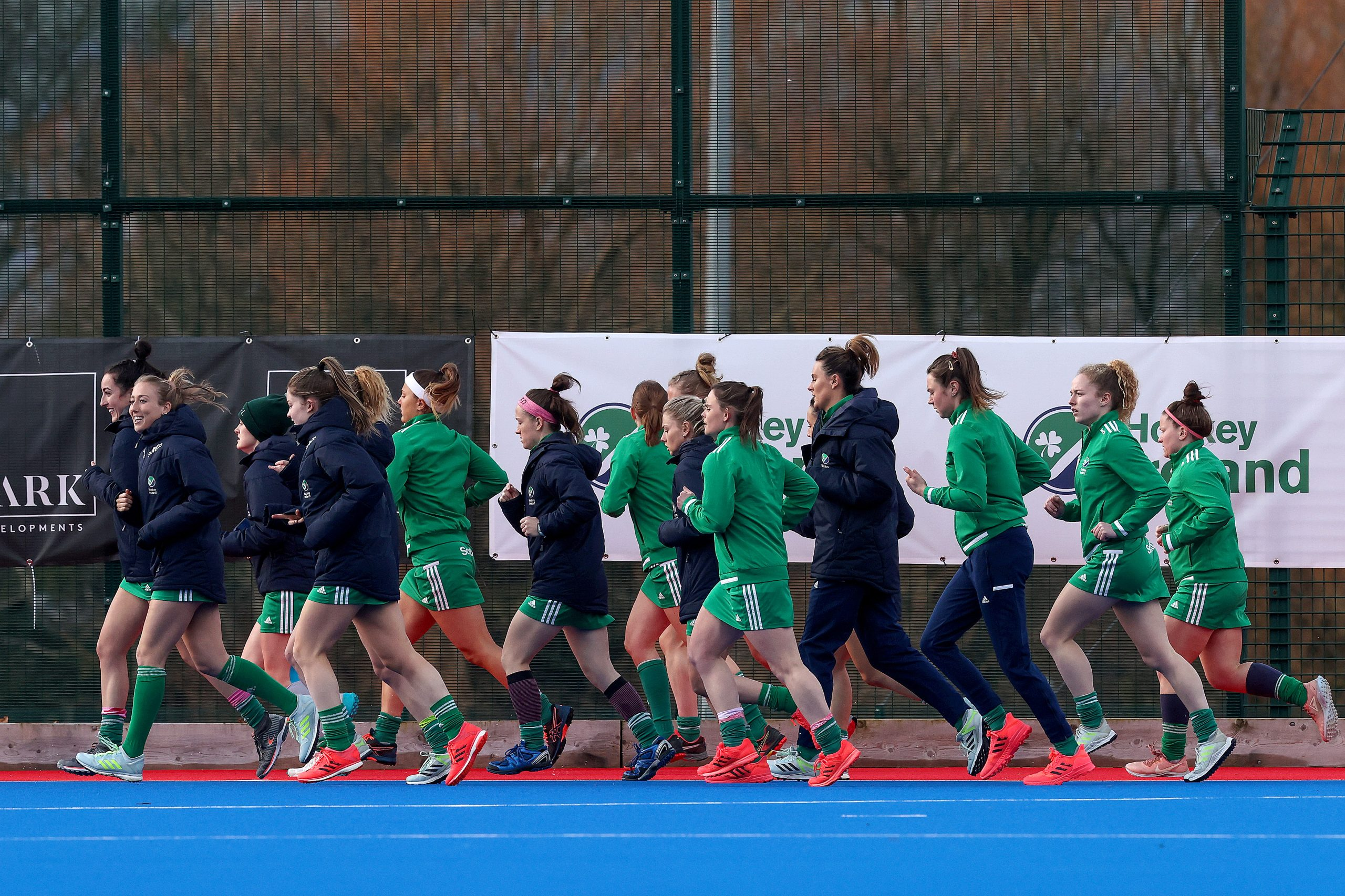 Inpho. Green Army Warm Up Ahead of GB Clash at SoftCo Series 2021 scaled