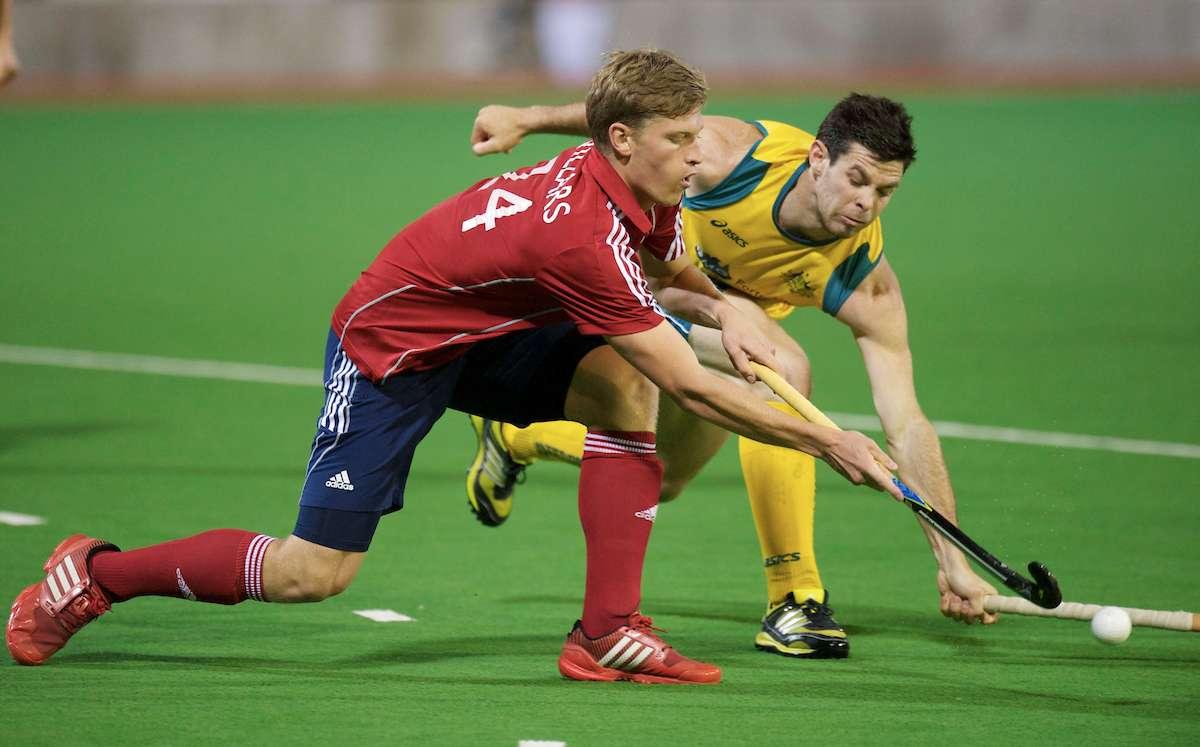 MELBOURNE - Champions Trophy men 2012.Australia v England 2-0.foto: Oliver Willars..FFU PRESS AGENCY COPYRIGHT FRANK UIJLENBROEK.