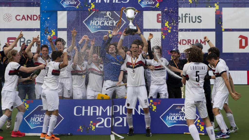 Belgium Hockey Champions Dragons will be a top seeded side for the 2021 EHL Cup