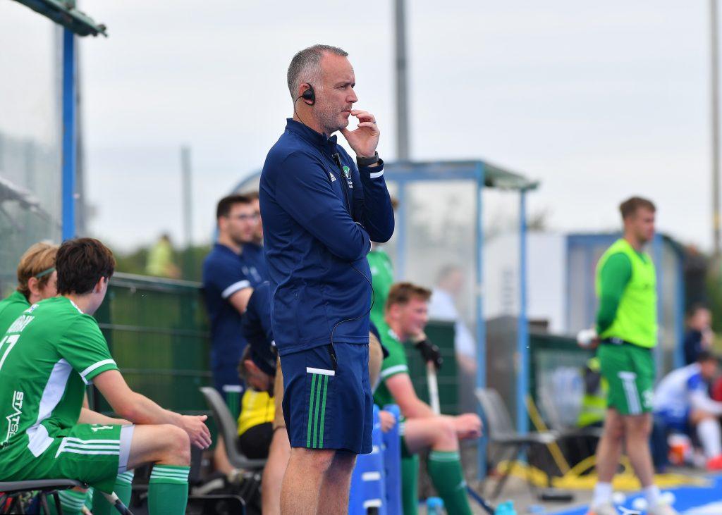 Irish coach Mark Tumilty. Pic Adrian Boehm