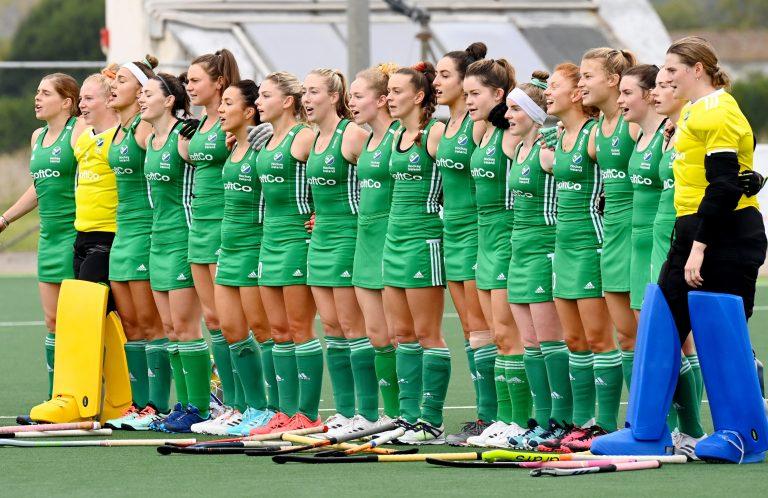 Irelands women in Pisa Pic Frank Uijlenbroek World Sport Pics